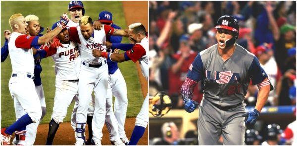 ESTA NOCHE: USA Vs Puerto Rico FINAL del Clásico Mundial de Béisbol