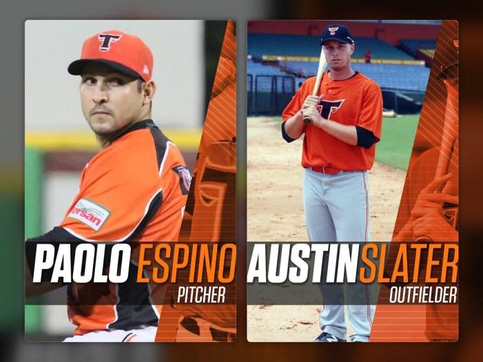 Toros anuncian a Slater y Espino como refuerzos