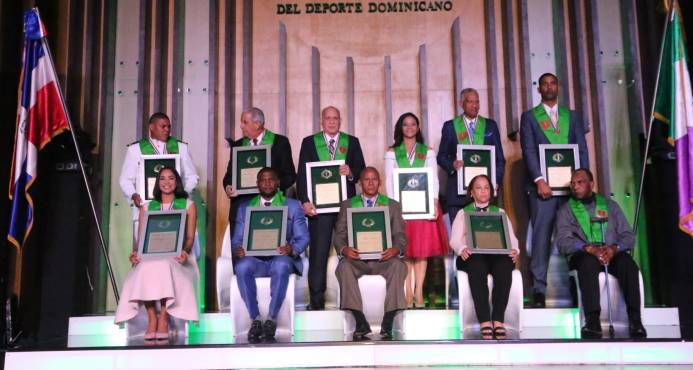 Nueve deportistas dominicanos son llevados a la inmortalidad
