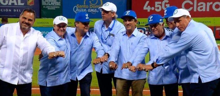 Tigres Del Licey entregan anillos de campeones