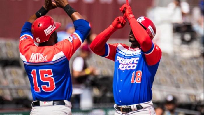 Puerto Rico avanza a semifinales de la Serie del Caribe tras aplastar a Venezuela