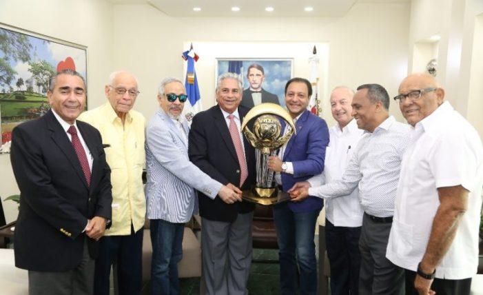 Aguilas Cibaeñas reconocen Alcalde Abel Martínez