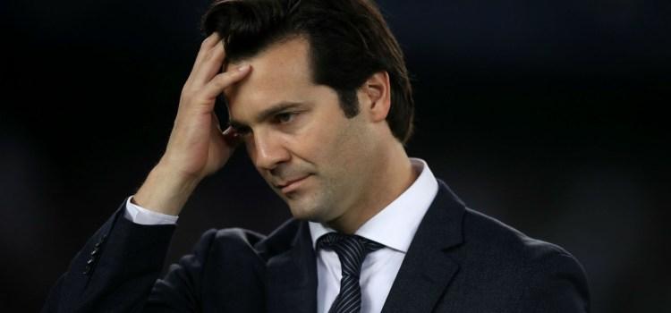 Santiago Solari - managerul Real Madrid în cadrul înfrângerii cu Real Sociedad