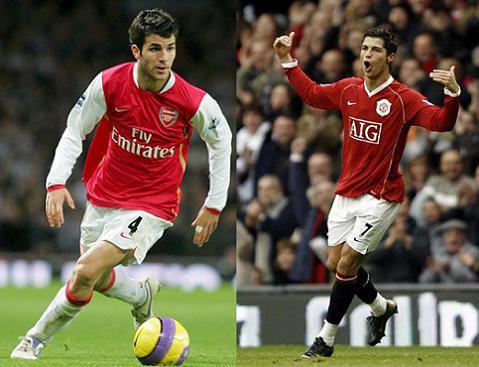 Cesc & Cristiano Ronaldo