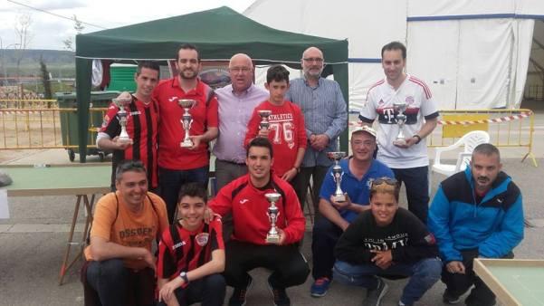 Podium de este torneo de San Isidro en Azuqueca