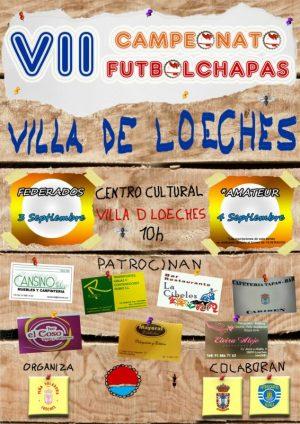 Cartel Loeches 2016