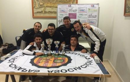 Foto de los Campeones por Equipos III Autonómico