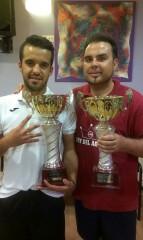 Santi y Flores, Finalistas del Torneo
