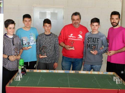 Pódium XI Open de Almería