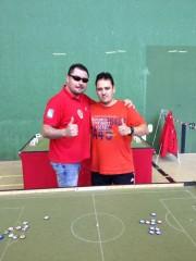 Javi Casado y Richard semifinalistas