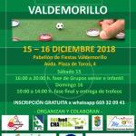 INSCRIPCIONES ABIERTAS PARA EL V OPEN DE VALDEMORILLO 2018