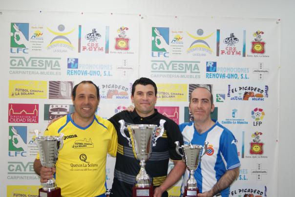 Podium Liga La Solana 2016