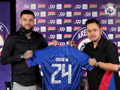 Diego Michiels Diperingatkan Untuk Tak Lagi Jadi Bad Boy Di Arema FC