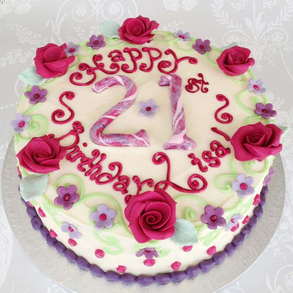 Buttercream 60th Birthday Cake Men