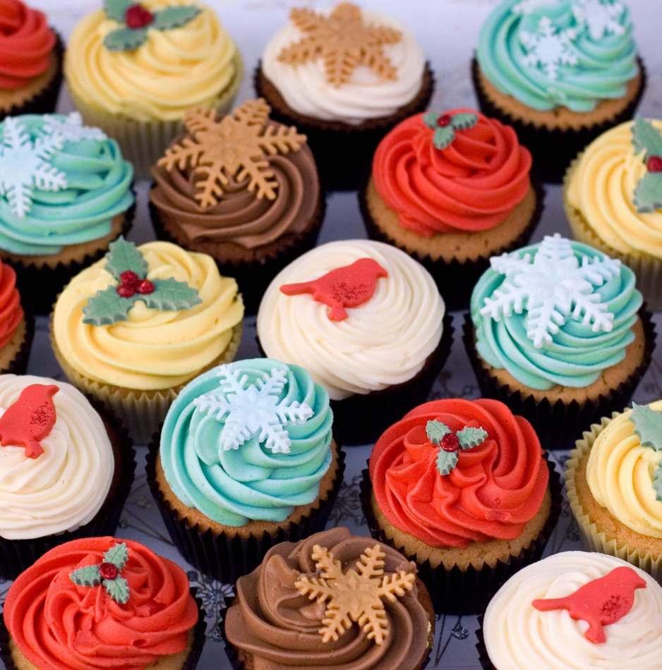 Christmas Cupcake Assortment Cupcakes