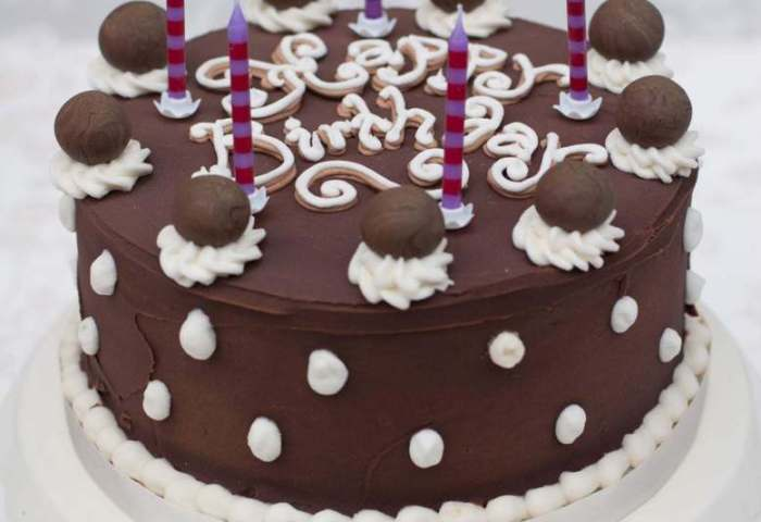 Chocolate Cakebuttercream Cakebirthday Cakeedinburghglasgow