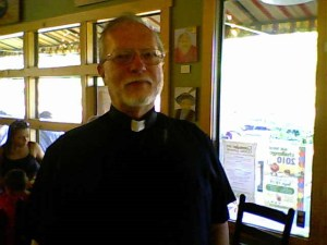 Sep 04, Don Chapin in Pastor's Uniform