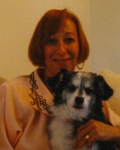 Rev. Diane Chapin and her dog, Lucy