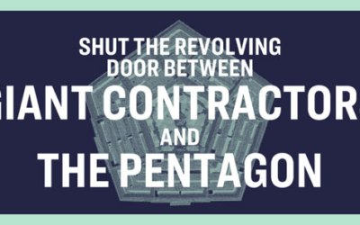 It's Time to Reduce Corporate Influence at the Pentagon