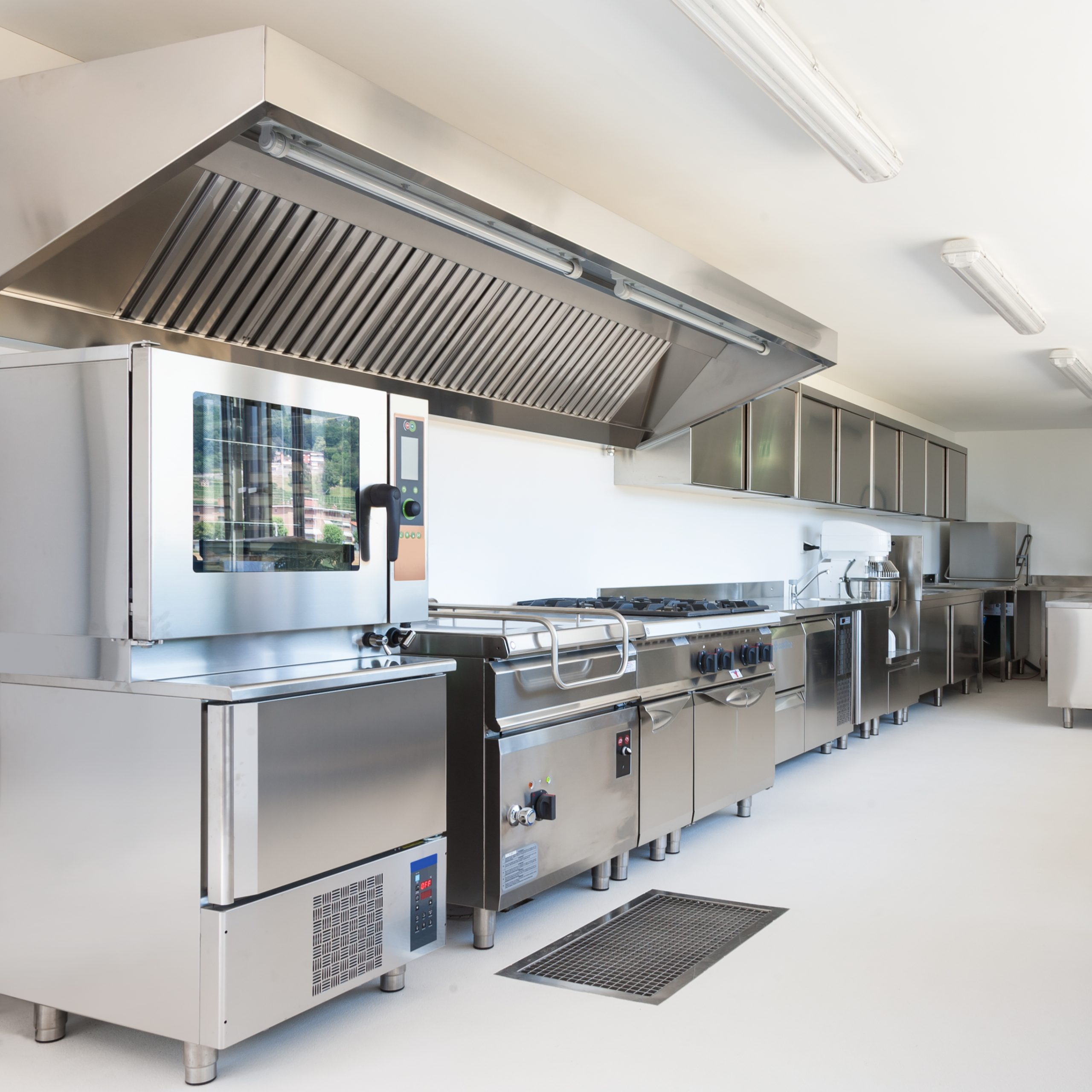 uv kitchen exhaust self cleaning
