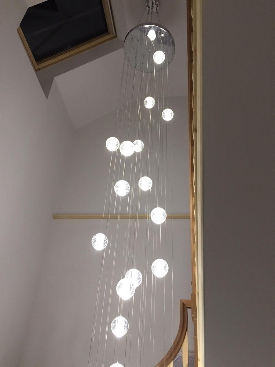 Large Led Pendant Lights