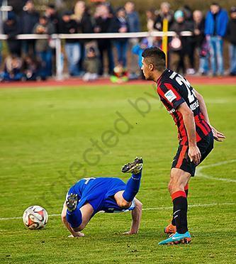 FC Germania 09 gegen Eintracht Frankfurt