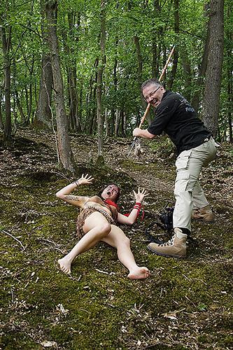 Making of 084 - Pocahontas-Shooting-- funny making of - status, outdoor, fototips, abseits-des-alltags - outdoor, Making of, funstuff, Fun, Frauen, Ein Tag im Leben eines Fotografens, Draußen, Die Geschichte hinter den Fotos