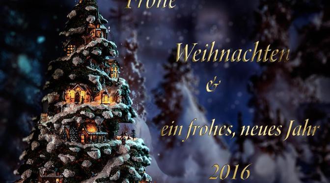 Frohes Fest und Danke für 2015
