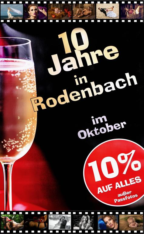 Firmenjubiläum, 10 Jahre Rodenbach – unser Jubiläum, Fotostudio Light-Style`s Blog