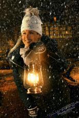 Winterstimmung 1 32 - keine 08/15 Porträts ? - portraets, besondere-portraets, allgemein - Weihnachtsgeschenke, Porträts, Kinderporträts, Glamour, Geschenke, Frauen