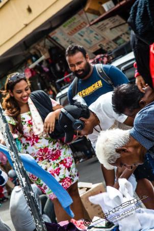Straßenhändler gibt in den Städten an jeder Ecke