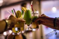 Und die Cocktails hier, mmmhhh , mit gutem mauretanischem Rum -- lecker ;-)