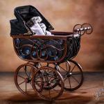 antiker Kinderwagen 12 - Tricks ja - aber keine Photoshop Kreation - studio-infos, allgemein - Werbefotos, Produktfotos, hss, foodfotografie, Cocktails, Businessfotos