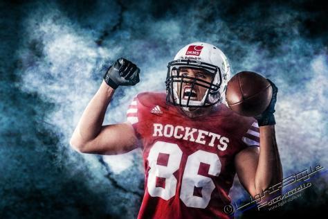 Sportlerfotos, American Football  – Sportlerporträts, Fotostudio Light-Style`s Blog