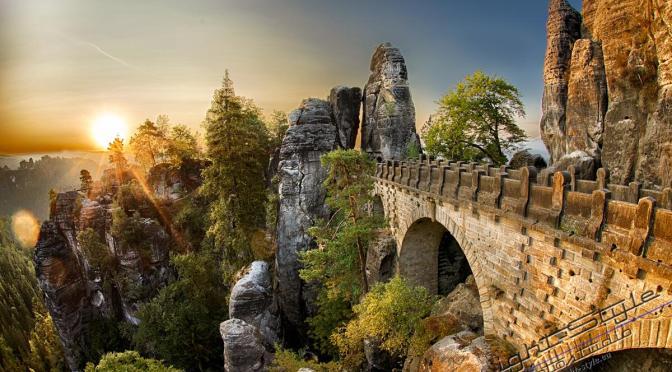 sächsische Schweiz – traumhafte Natur