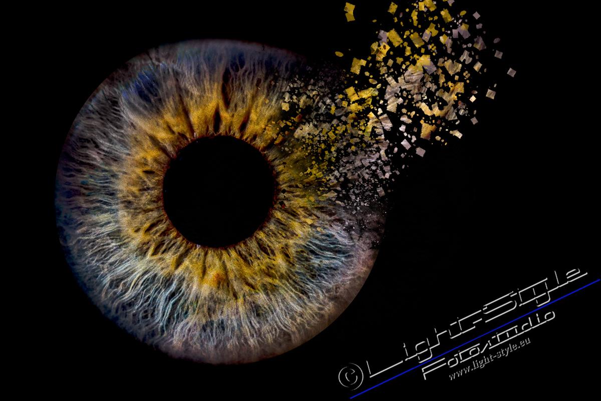 Irisfoto 1 - Euer Irisfoto - einfach geil - irisfotos - Porträts, Liebe ist, Irisfoto, Geschenke, besondere Porträts