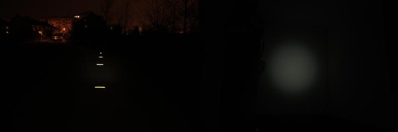 Fenix HP01 - 4 lumens