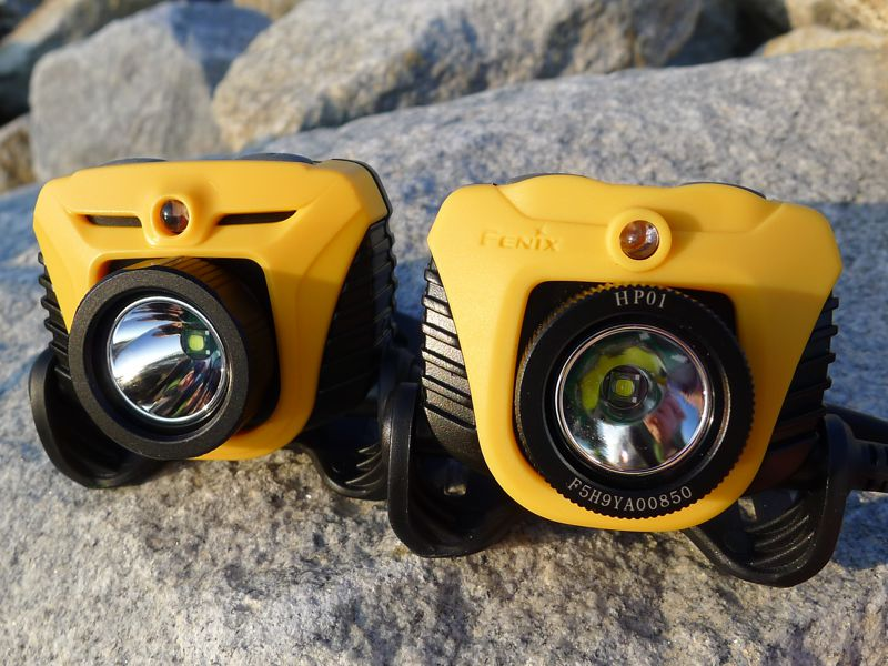 Fenix HP01 & HP05 - side by side II