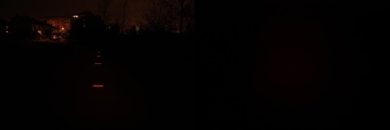 Fenix HP01 - red light