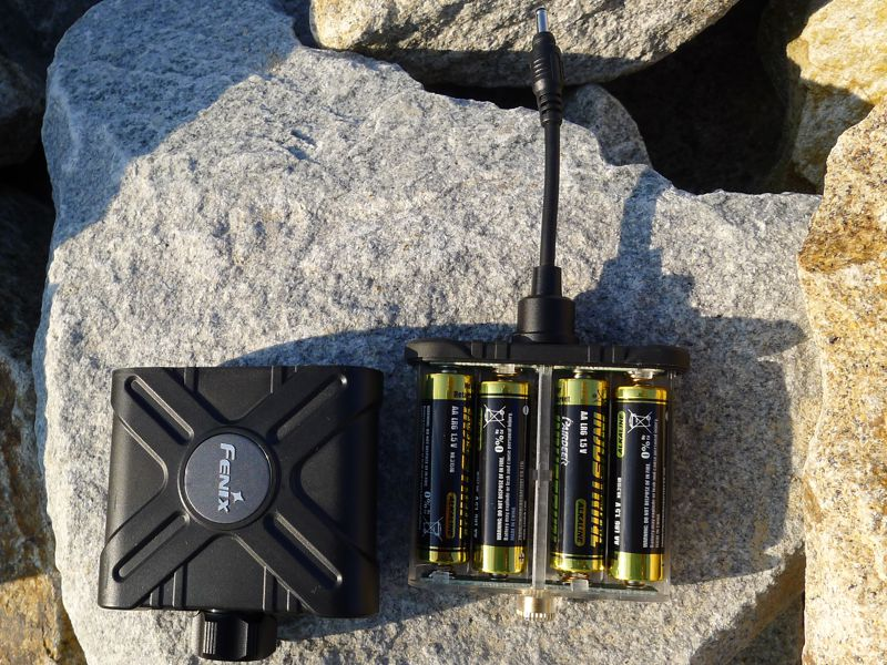 Fenix HP15 - 4xAA battery pack