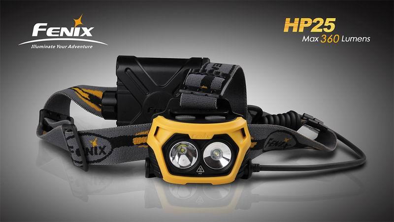 Fenix HP25 - catalogue photo