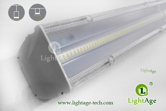 2ft 4ft 5ft 130lmW 0 10V Dimmable LED Linear Light LightAge