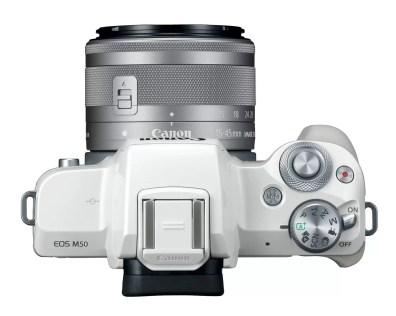 Canon-m50-white-15-45-top