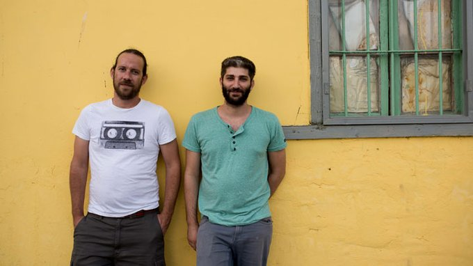 אסף בן דוד ואסף קזדו. צילום: בן קלמר