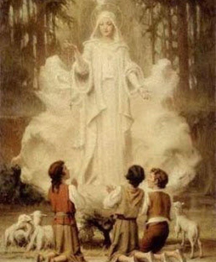 قصة ظهور العذراء مريم على الأطفال الثلاث في فاطيما بالبرتغال 2
