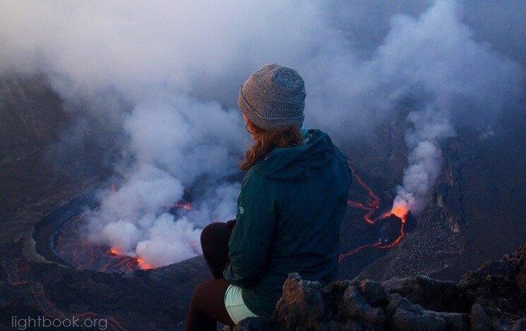 Photo of شاهد بالفيديو أكبر بركان في العالم نيراجونجو Nyiragongo