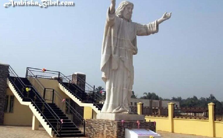 Photo of صور أكبر تمثال للسيد المسيح في القارة الأفريقية