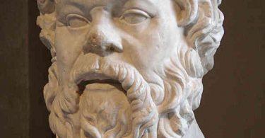 the Great Greek Philosopher Full Of Wisdom