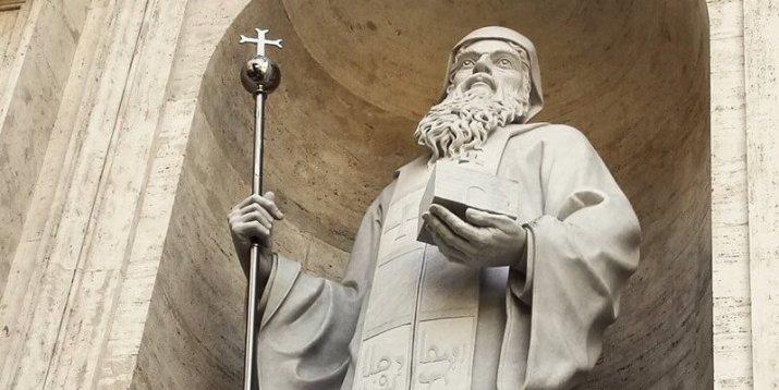 صلاة تساعية القديس مار مارون مؤسس الطائفة المارونية
