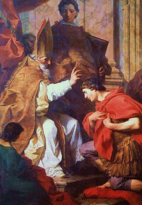 أقوال آباء الكنيسة القديسين جيروم، ثيؤدوسيوس، أمبروسيوس